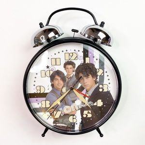 Jonas Brothers Camp Rock BIG Alarm Clock Band 2010